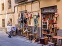 La Latina, bekend om zijn antiek- en brocantewinkels