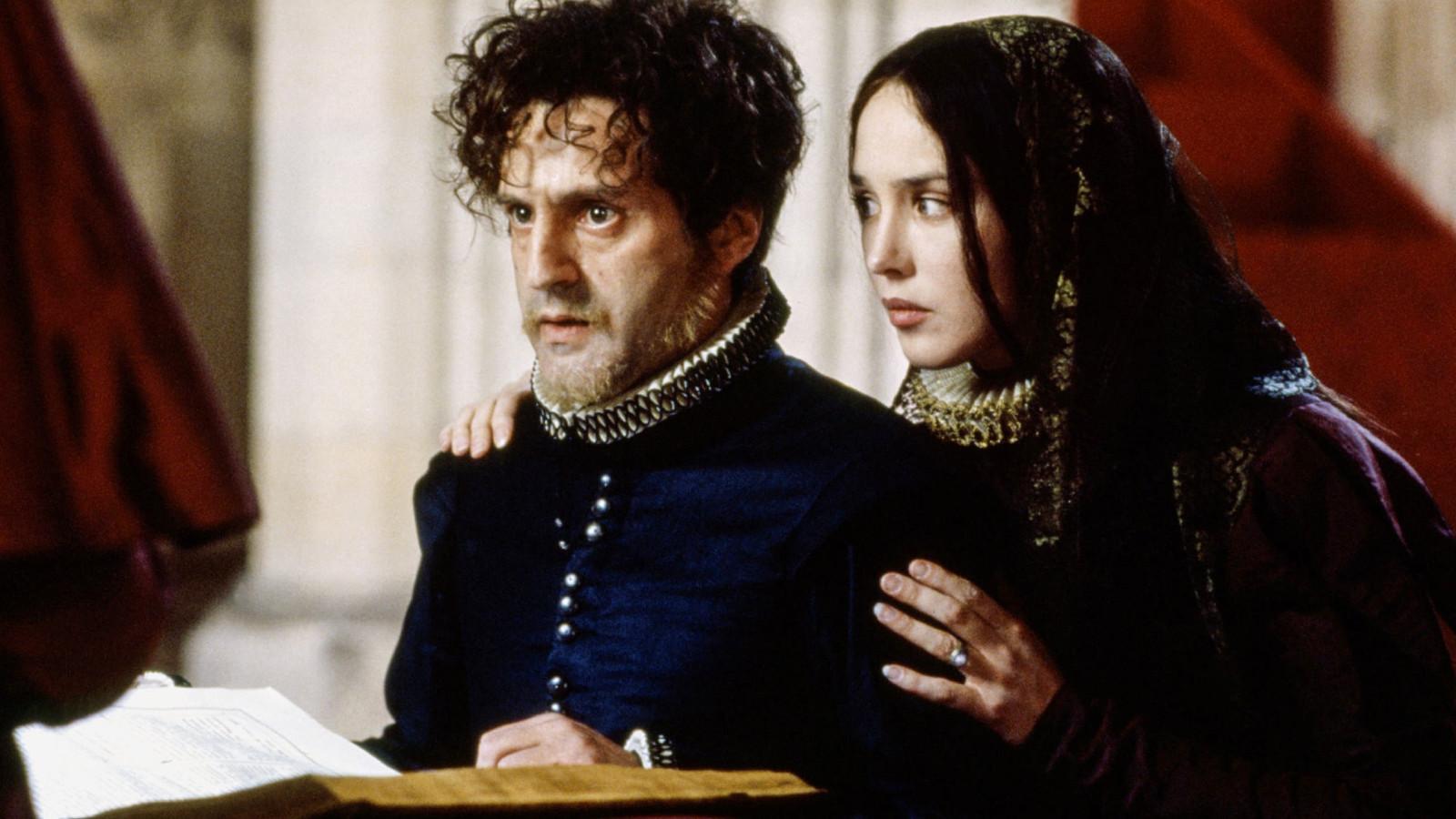 Daniel Auteuil en Isabelle Adjani in La Reine Margot.