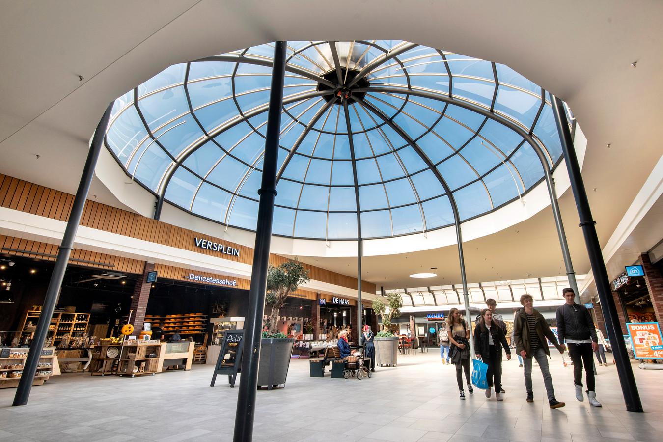 Het versplein in Winkelcentrum Presikhaaf in Arnhem.