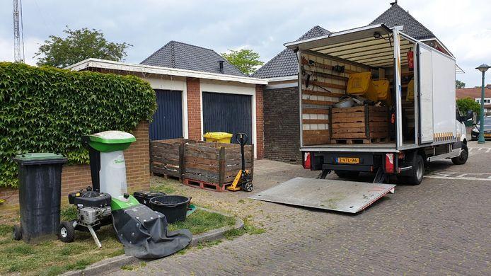Er is dinsdagmiddag een wietplantage opgerold in Enschede.