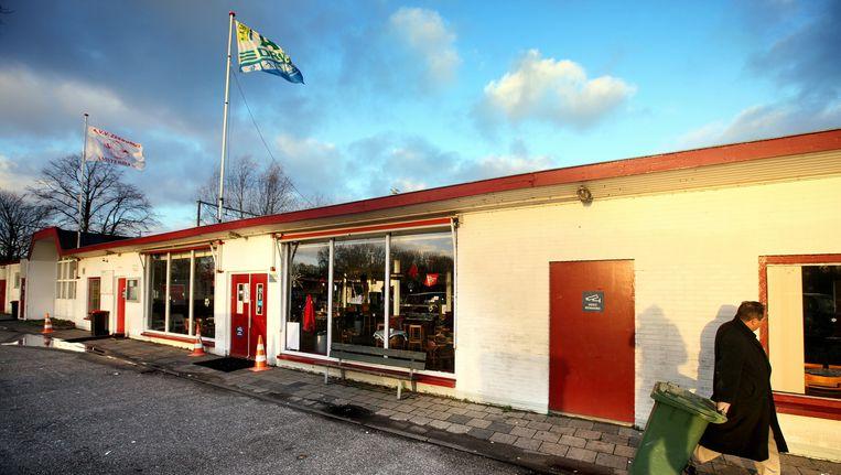 Het clubhuis van Zeeburgia. Beeld Jean-Pierre Jans