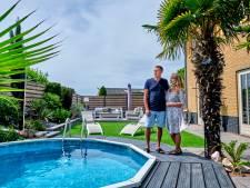 Fred en Inge hoeven niet op vakantie, zij wonen in het 'mediterrane' Spijkenisse