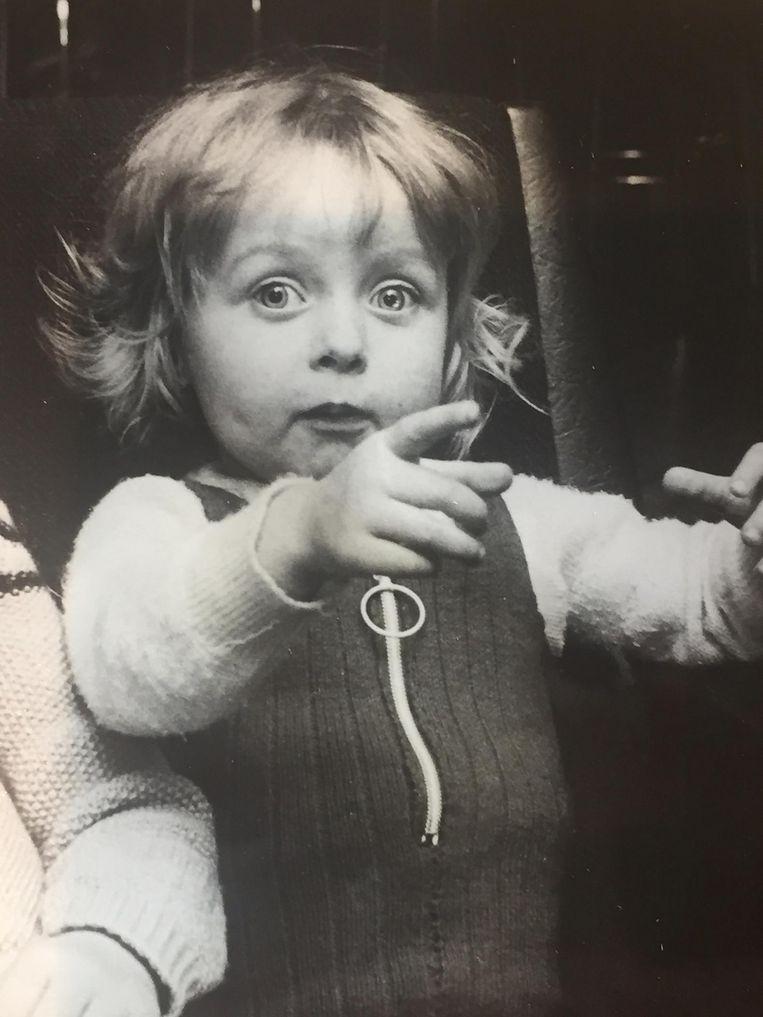 Kinderfoto Plien van Bennekom Beeld -