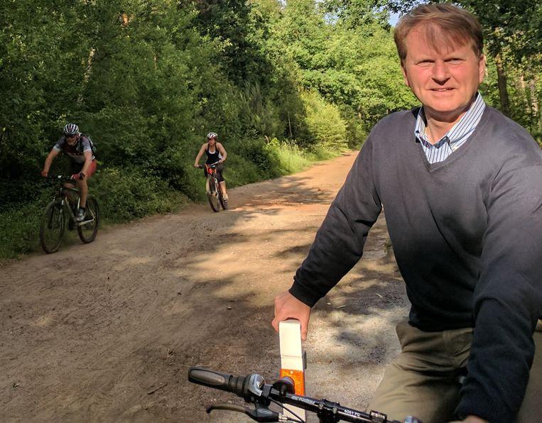 Met het nieuwe project ontstaat een fietsverbinding tussen het natuurgebied De Uitlegger en Perron Noord.