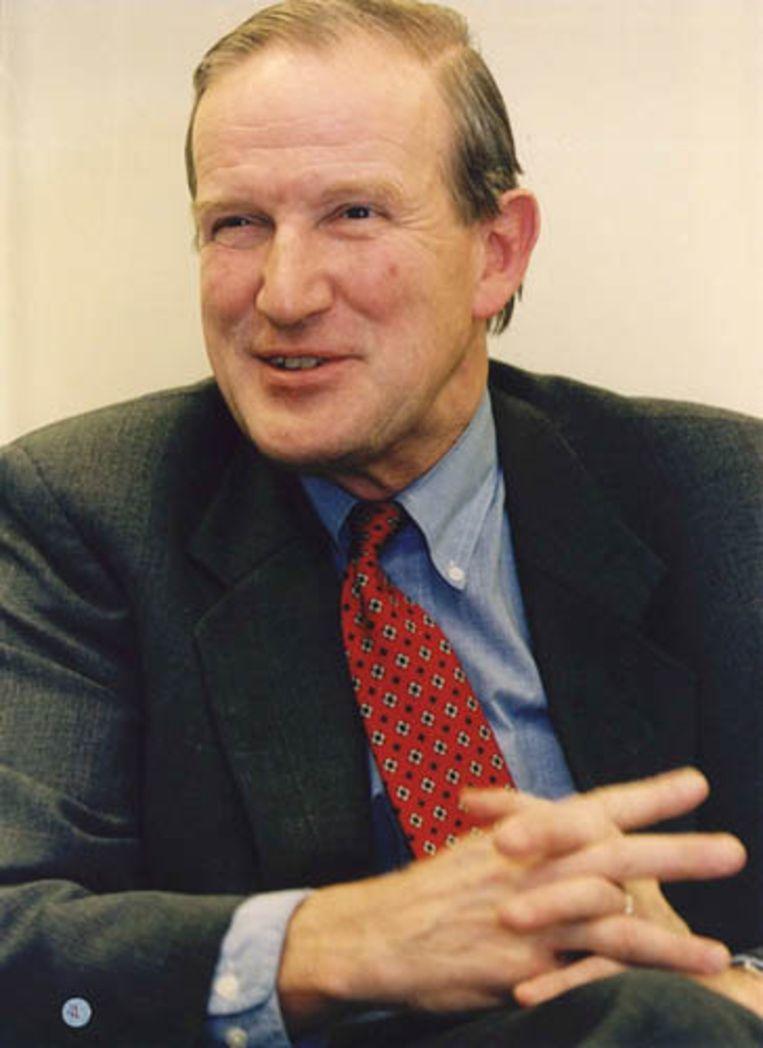 Schelto Patijn in 1994. De oud-burgemeester van Amsterdam is in de nacht van zaterdag op zondag overleden. Patijn is 70 jaar oud geworden. (ANP) Beeld ANP