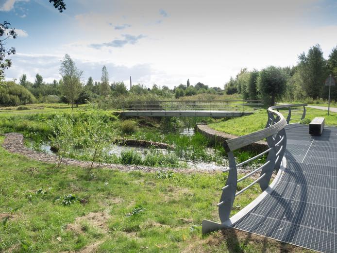 Het nieuwe Goorlooppark in Helmond-West is vanaf dit weekeinde officieel geopend voor publiek