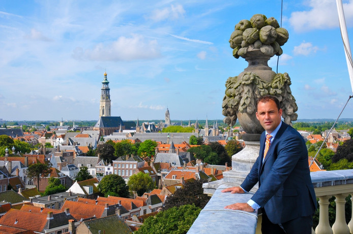 Wethouder Johan Aalberts.