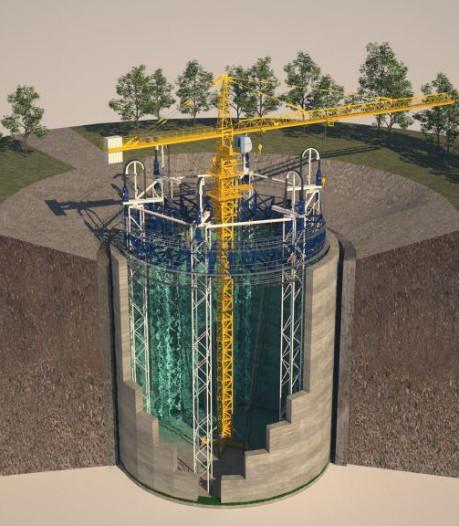 Aanleg ondergronds 'ecovat' voor aardwarmte in Arnhem onzeker