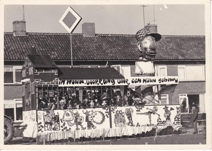Een van de wagens van de hand van Schrooyen, uit 1964.