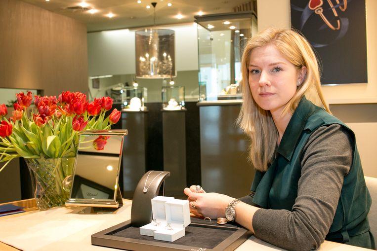 """Julie Martens: """"Twee winkels en alle atelierwerk zijn nog moeilijk te combineren. Daarom gaan we alles op één plek centraliseren, maar dan in Aalst."""""""