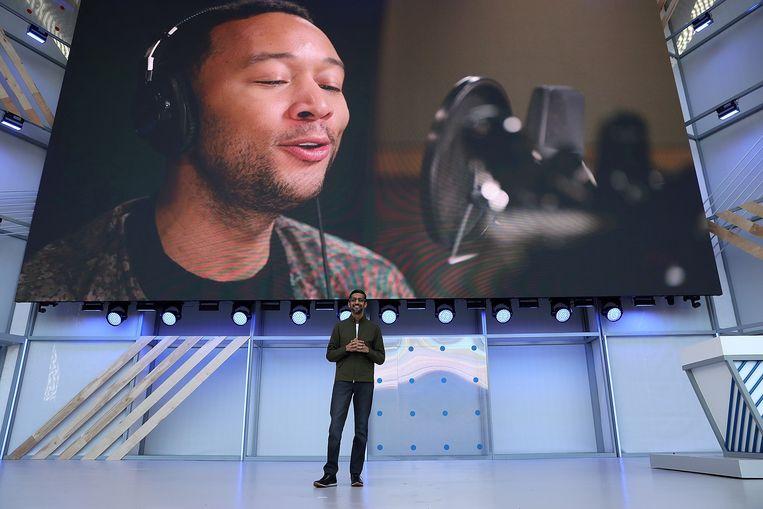 Voor de Engelse Google Assistant kan je binnenkort de stem van John Legend kiezen.
