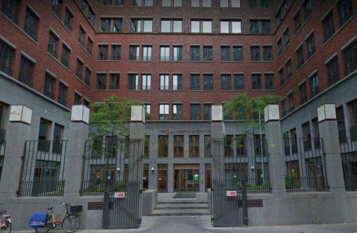 Kantoorpand van de Gemeente Rotterdam aan de Librijesteeg