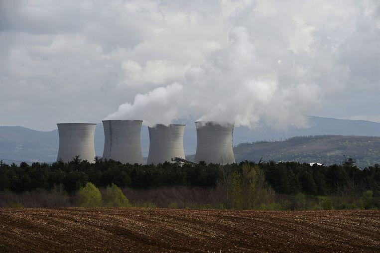 Reactoren in Bugey in het Franse département Ain.