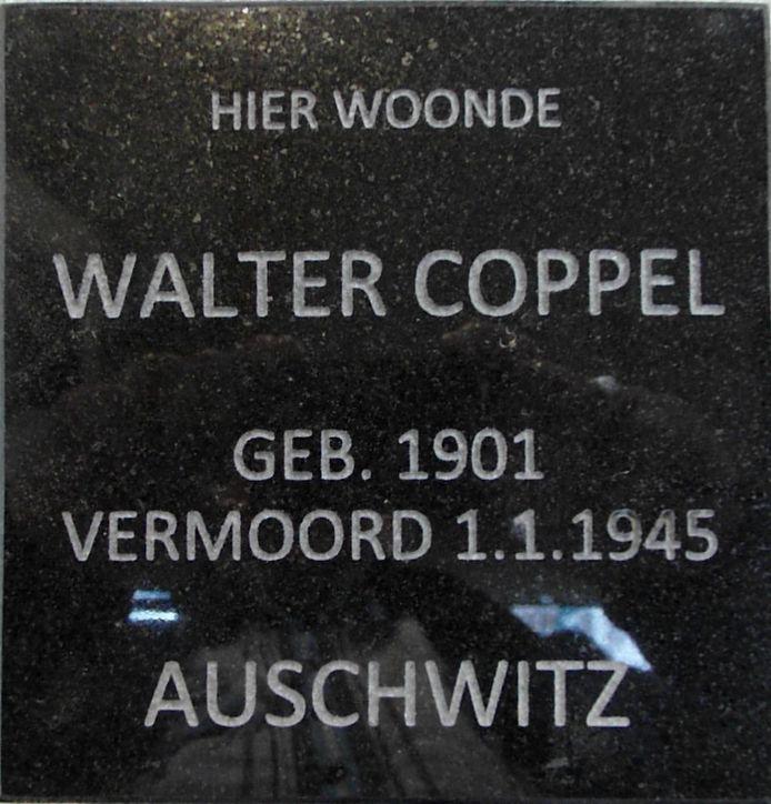 De familie Coppel, die slachtoffer werd van de holocaust, woonde waar nu appartementencomplex Zonnewende is.