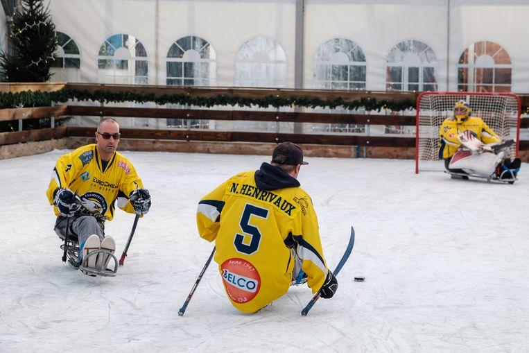Antwerp Phantoms Para Ice-Hockey team.