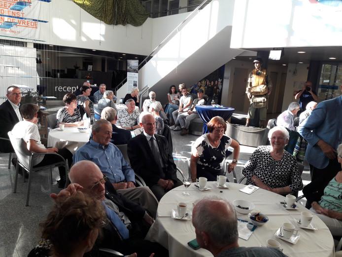 De veteranen werden vorstelijk ontvangen in Groesbeek.