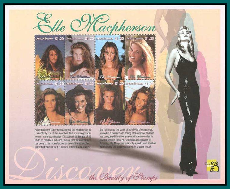 Elle was zelfs op postzegels te zien.