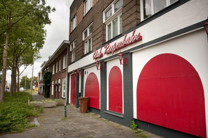 Club Reeperbahn aan de Belcrumweg  in Breda.
