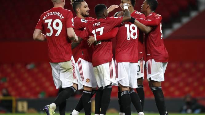 Manchester United haalt uit tegen Leeds en rukt op naar derde plaats