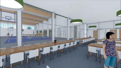 Video. Zo zullen verbouwde Vrije Basisschool en nieuwe sporthal in Huise er over twee jaar uitzien