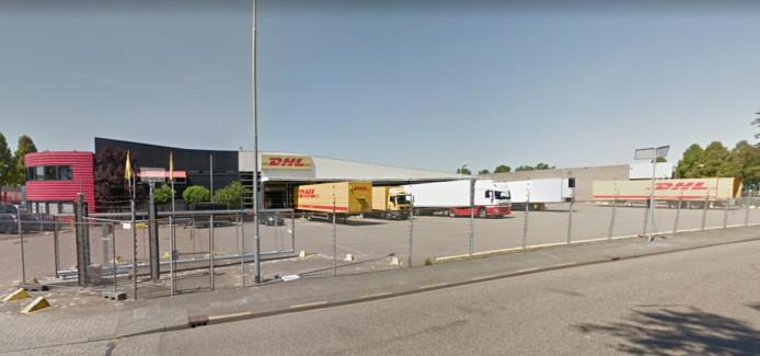De loods van DHL aan de Zilverenberg in Den Bosch.