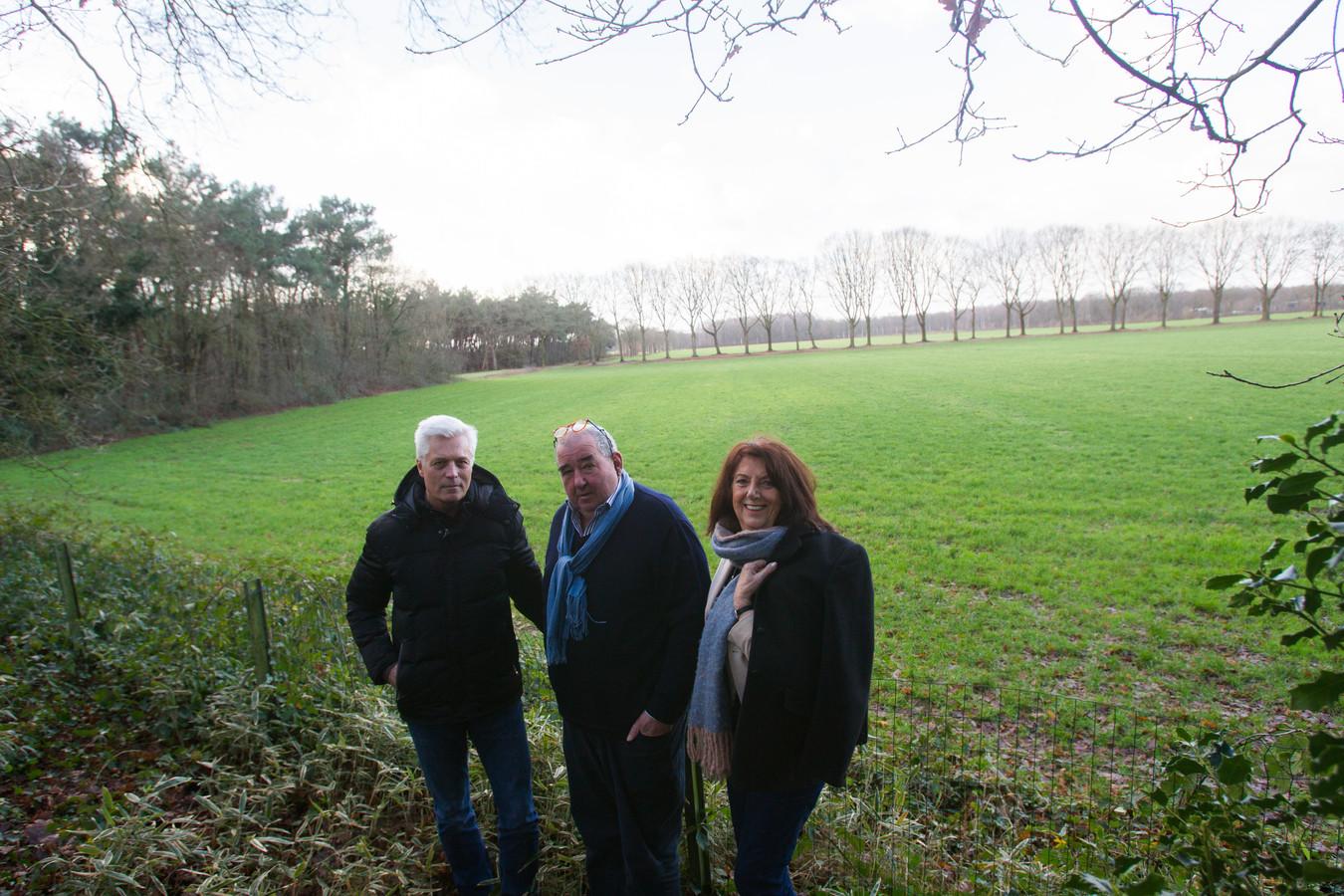 Pieter Engels, Peter Schuttelaars en Ria Crooijmans.