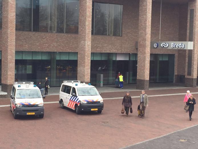 Ook extra agenten op station Breda.