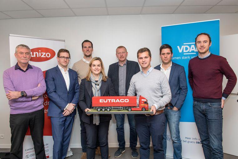 VDAB en Unizo  stelden bij Eutraco de meest recente arbeidsmarktcijfers voor.