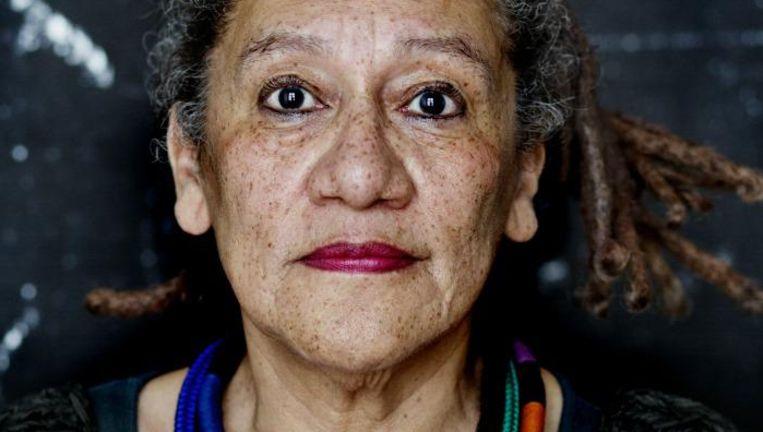 Voorzitter van de Commissie Diversiteit van de UvA, Gloria Wekker. Beeld Lenny Oosterwijk