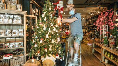 """Vlaanderen smelt door hittegolf, maar daar is de eerste kerstversiering al: """"Met normaal doen, kom je er niet meer"""""""