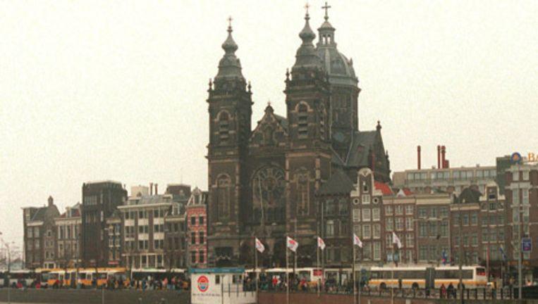 De Nicolaaskerk in Amsterdam. Archieffoto ANP Beeld