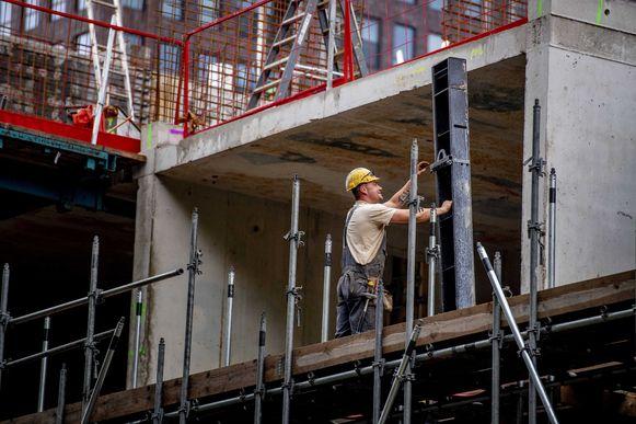 Beeld ter illustratie, bouwsector.