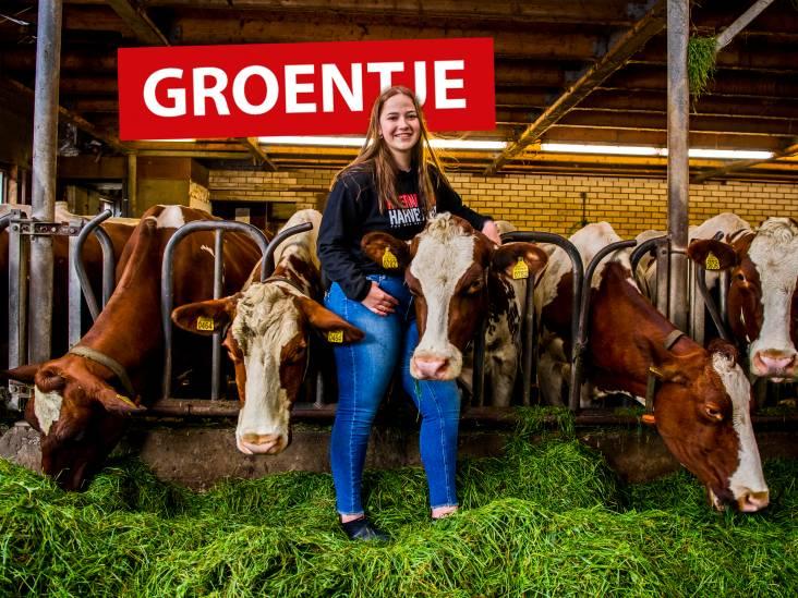 Maartje (17) vond het eerst verschrikkelijk, maar is nu juist trots dat ze op een boerderij woont