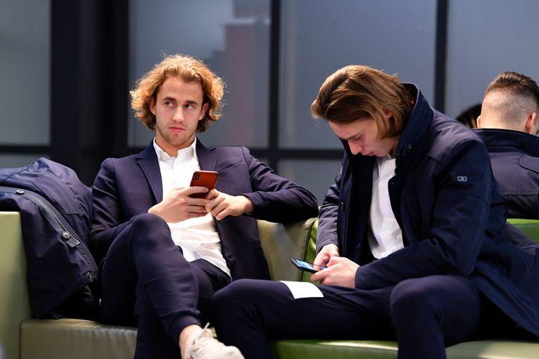 Doelmannen Gaetan Coucke en Maarten Vandevoordt.