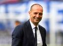 Oud-trainer Massimiliano Allegri van Juventus.