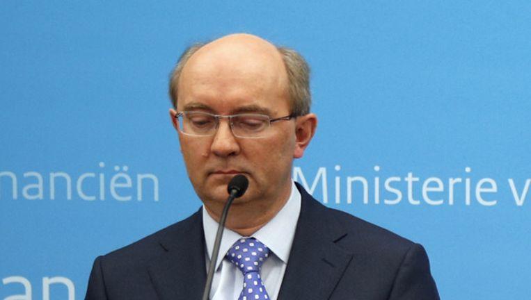 Directeur Toezicht Jan Sijbrand van De Nederlandsche Bank. Beeld anp