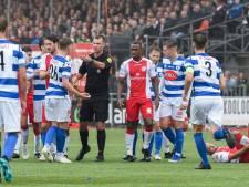 Twentse leiding bij meest beladen wedstrijd in het Nederlandse amateurvoetbal