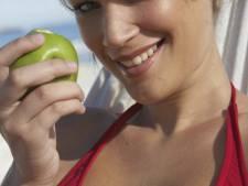 'Appels met schil en al eten helpt bij afvallen'