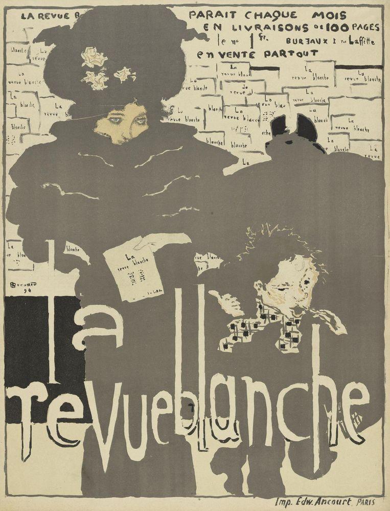 Pierre Bonnard, affiche voor het tijdschrift, La revue blanche, 1894. Beeld Pictoright Amsterdam 2016