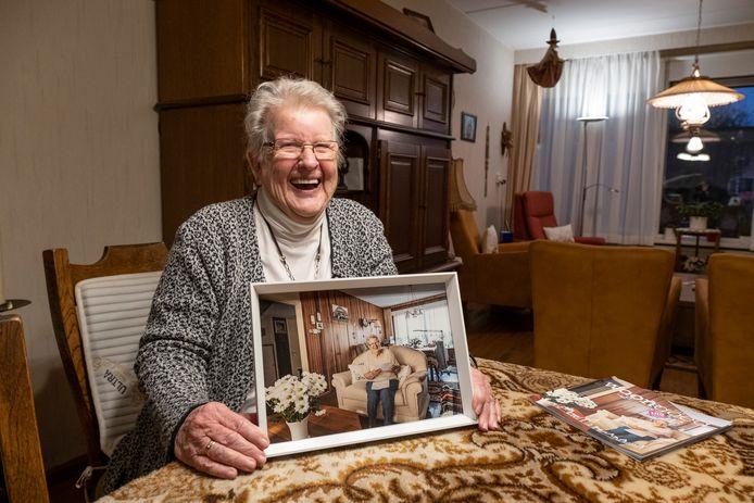 Donny van den Bos (85), één van de meest trouwe huurders van Woongoed Middelburg