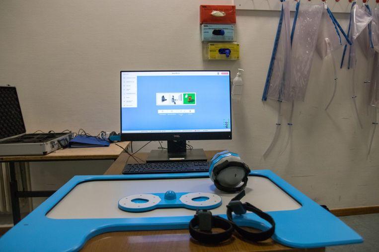 Het Bimeo Pro-toestel werd ondertussen al aangekocht door het MS Center.