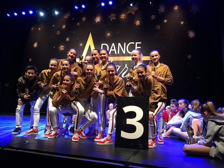 De dansers van Terpsichore wonnen 2 prijzen op het Belgisch Kampioenschap 'Dance Stars'.
