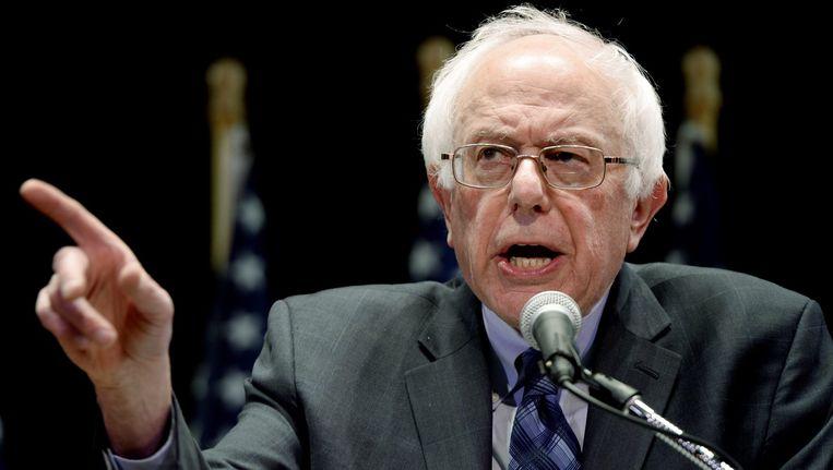 Clinton valt Sanders specifiek aan op zijn stemgedrag over wapenregulering. Beeld epa