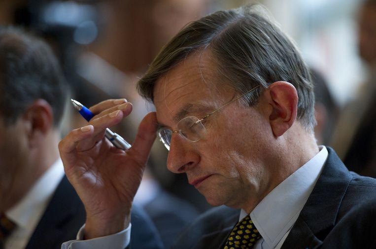 Oud-topman van Shell Jeroen van der Veer. Beeld anp