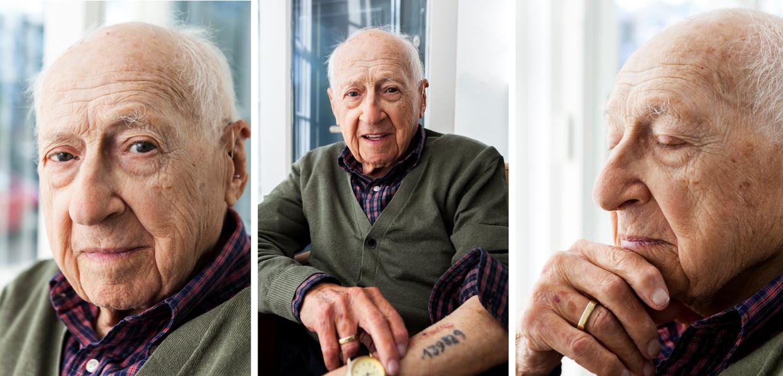 Max Rodrigues Garcia, zoon van diamantslijper uit Amsterdam, en Auschwitz overlevende.