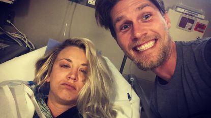 Kaley Cuoco ruilt huwelijksreis in voor ziekenhuisverblijf
