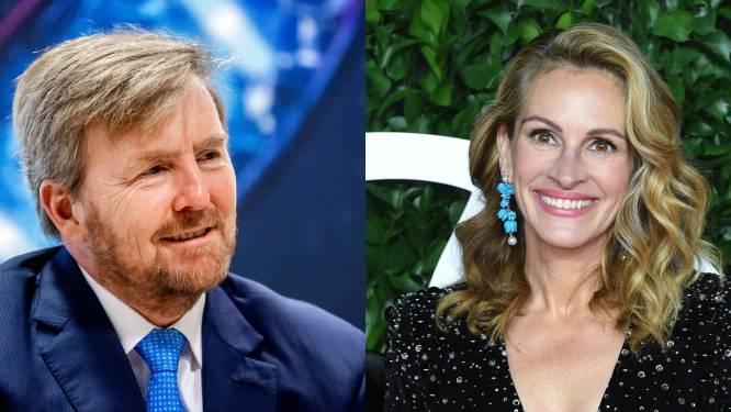 "Nederlandse filmjournalist doet bijzondere onthulling: ""Julia Roberts was smoorverliefd op koning Willem-Alexander"""