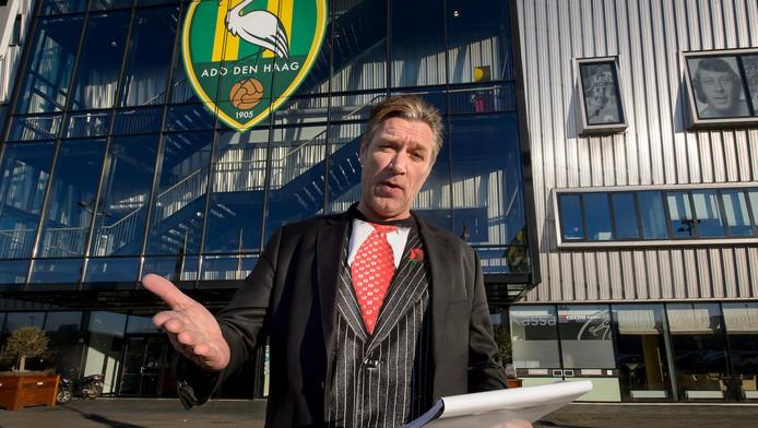 Sjaak Bral: 'Wij, supporters van ADO en Hagenezen en Hagenaars met een groengeel hart, hadden gehoopt op een gelukkig eind.'