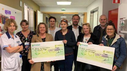 Basisschool De Wassenaard overhandigt cheque aan dienst Oncologie van AZ Sint-Jan
