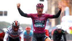 Snel, sneller, snelst: Lies Hansen wint op speeldag 4 van Gouden Giro Jaguar racefiets dankzij de rappe mannen
